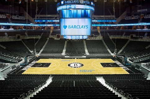 Barclays Center Seating Chart Row Seat Numbers