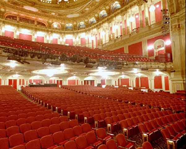 Detroit opera house floor plan - House plans
