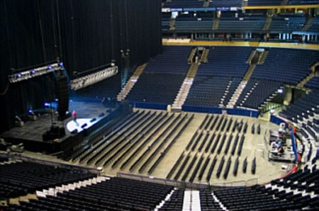 Bridgestone Arena Seating Chart Row Amp Seat Numbers