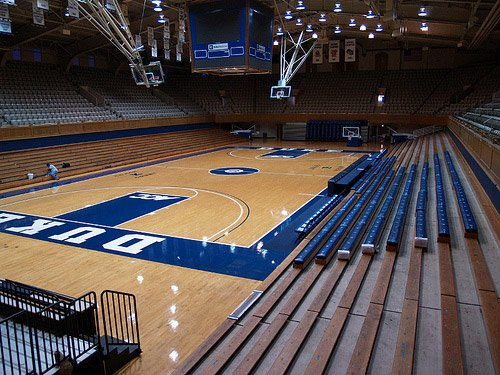 Cameron Indoor Stadium Seating Chart Row Amp Seat Numbers