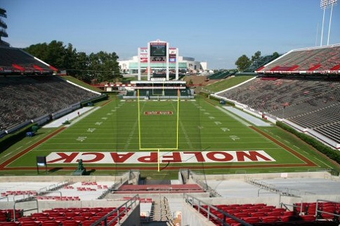 Carter Finley Stadium Seating Chart - Row & Seat Numbers on