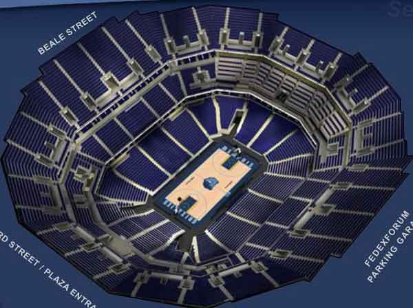 Cheap Fedex Forum Tickets No Service Fees