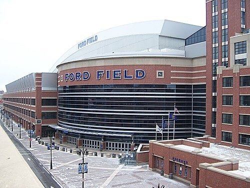 Ford Field Seating Chart Row Seat Numbers