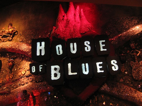 House of blues las vegas seating chart row seat numbers for Housse of blues