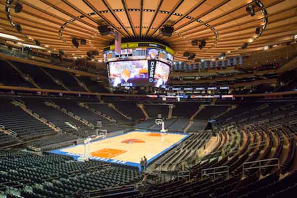 Madison Square Garden Seating Chart Row Amp Seat Numbers