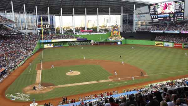 Marlins Ballpark Seating Chart Row Seat Numbers