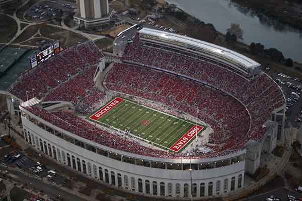 Ohio Stadium Seating Chart Row Seat Numbers