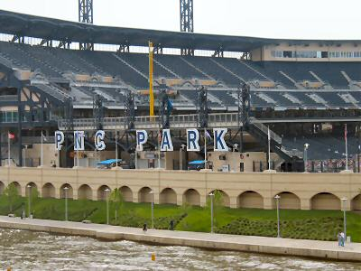 PNC Park Seating Chart - Row & Seat Numbers