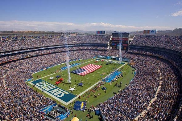 Qualcomm Stadium Seating Chart Row Amp Seat Numbers