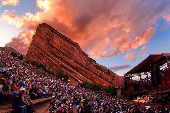 red rocks amphitheatre seating chart row seat numbers