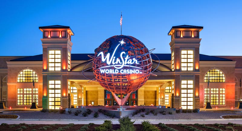 Winstar Casino Seating Chart Row Seat Numbers
