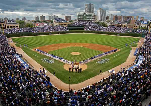 Wrigley Field Seating Chart Row Seat Numbers