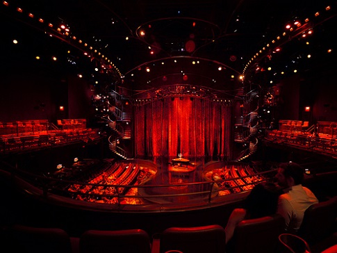 Zumanity Theater Seating Chart Row Amp Seat Numbers