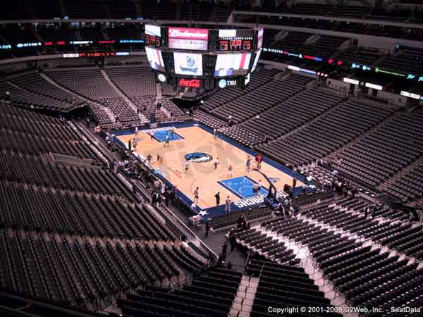 American Airlines Center Seat Views Section By Section
