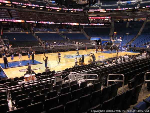 Amway Center Seat Views Section By Section