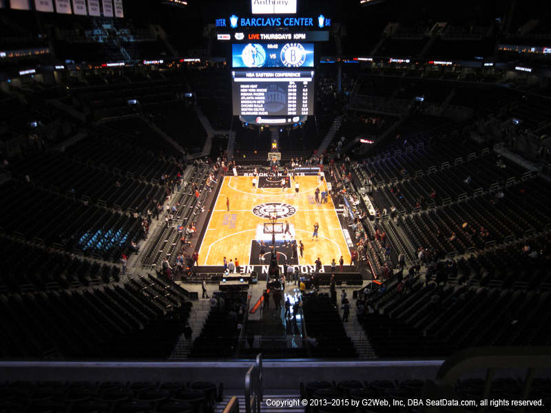 Barclays Center Seat Views - Section by Section