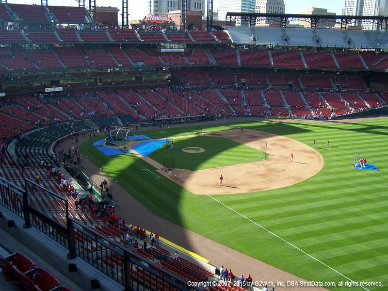 Busch Stadium Seat Views - Section by Section