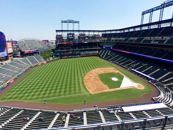 Coors Field Seat Views Section By Section