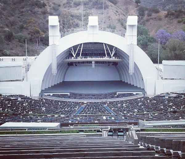 Hollywood Bowl Seat Views Section By