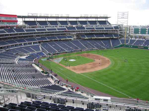 Nationals Park Seat Views - Section by Section
