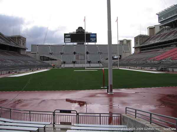 Ohio Stadium Seat Views Section By Section