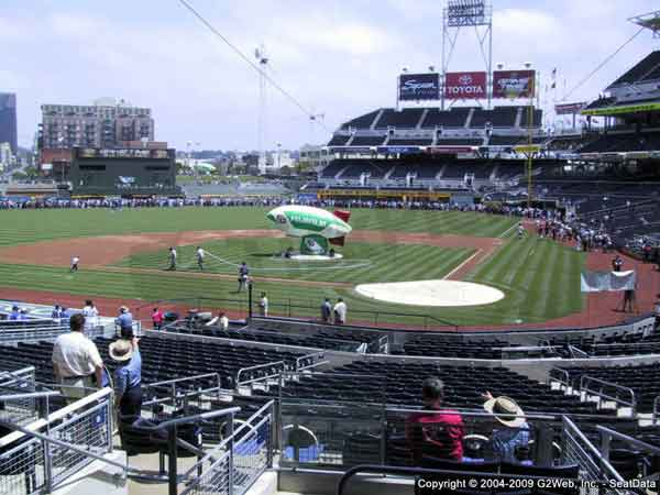 Petco Park Seat Views - Section by Section