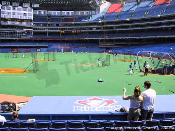 Rogers Centre Seat Views - Section by Section