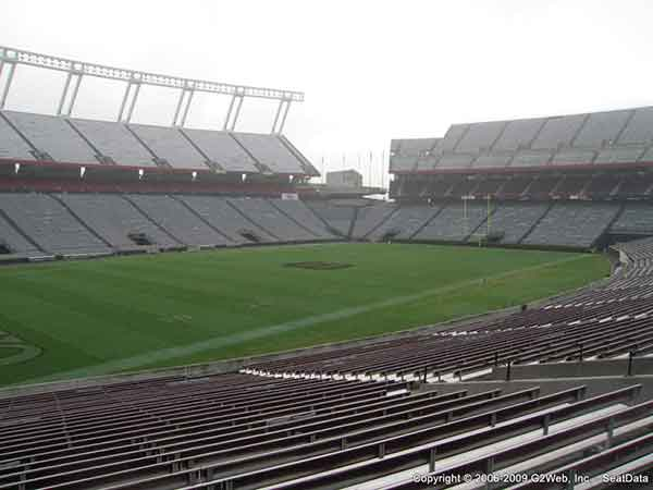 Williams Brice Stadium Seat Views